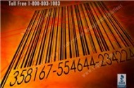 Barcode tracking software monitors where files are located