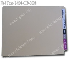 color coded rfid folder